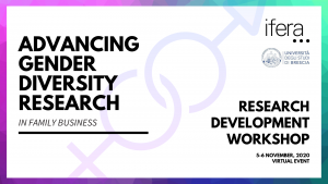 RDW Advancing gender diversity research - Registration