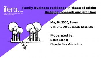 Family Business resilience in times of crisis